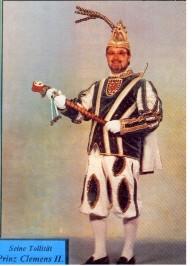 Prinz Clemens II. – Session 1995/96