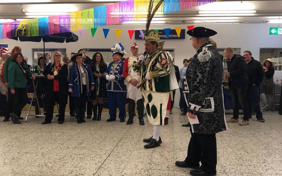 Prinzenwiegen bei der Metro
