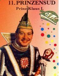 Prinz Klaus I. – Session 1993/94
