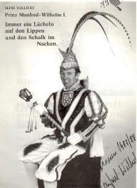 Prinz Manfred-Wilhelm I. – Session 1987/88