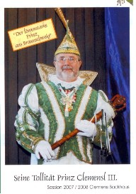 Prinz Clemens III. – Session 2007/08