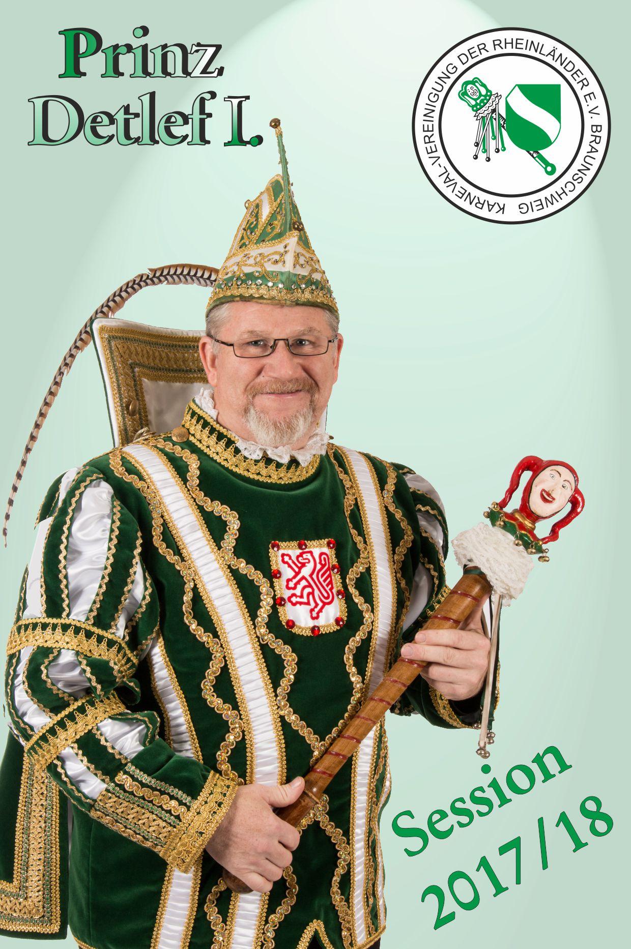 Prinz Detlef I. – Session 2017/18