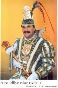 Prinz Dieter II. – Session 2003/04