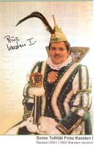 Prinz Karsten I. – Session 2001/02