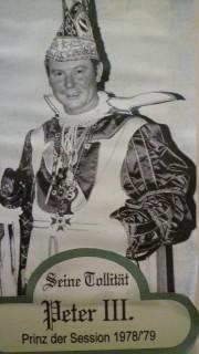 Prinz Peter III. – Session 1978/79