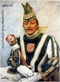 Prinz Manfred IV. – Session 1994/95